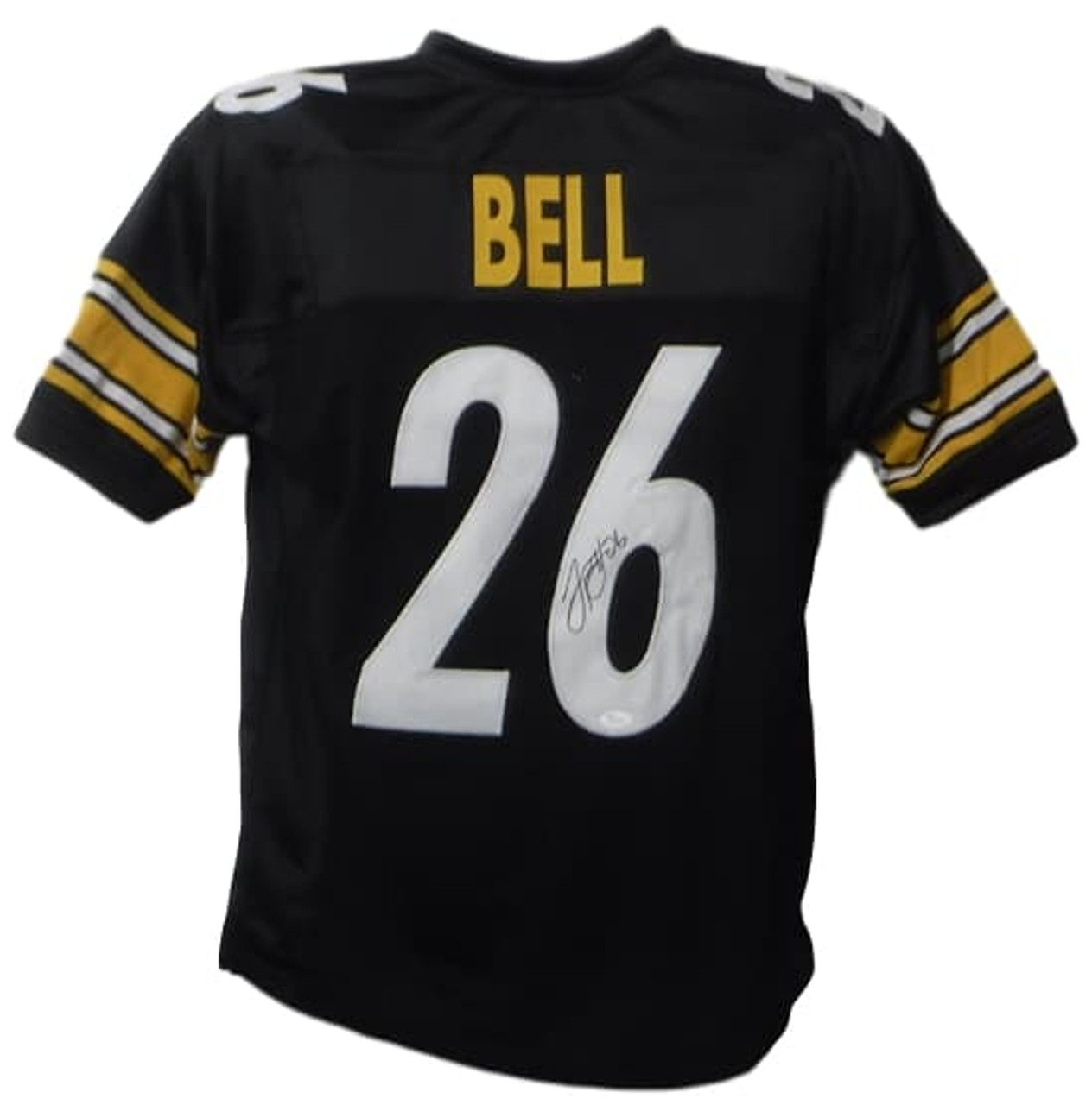 925a7d54bcf LeVeon Bell Autographed Pittsburgh Steelers black size XL jersey JSA