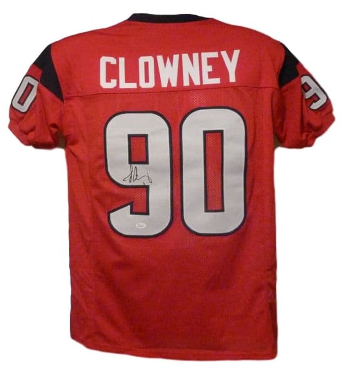 quality design 1ae1b a4976 Jadeveon Clowney Autographed Houston Texans red size XL jersey JSA