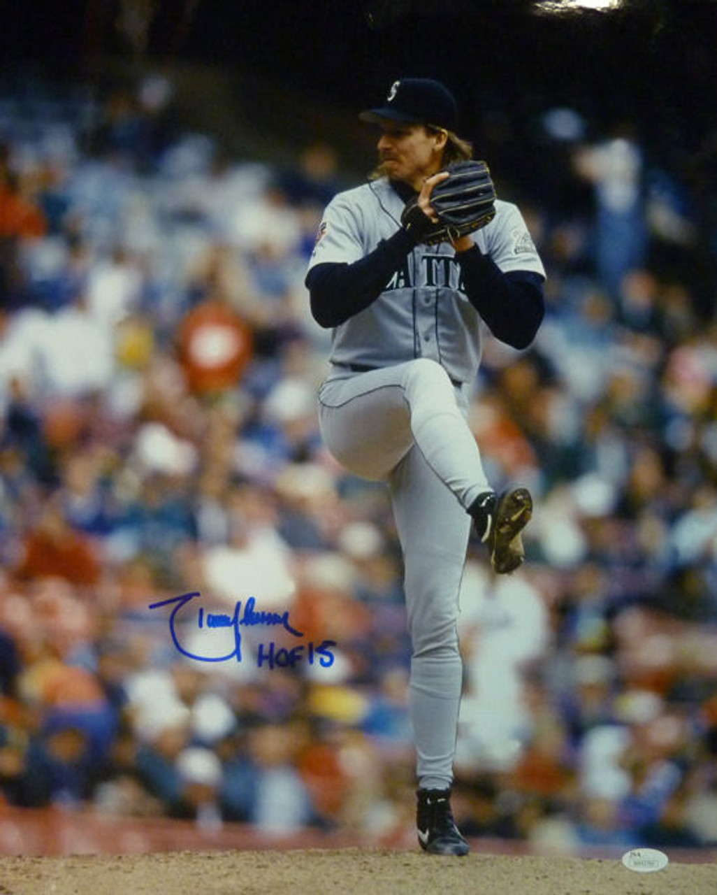 3b74a926cb Randy Johnson Autographed Seattle Mariners 16x20 Photo HOF JSA
