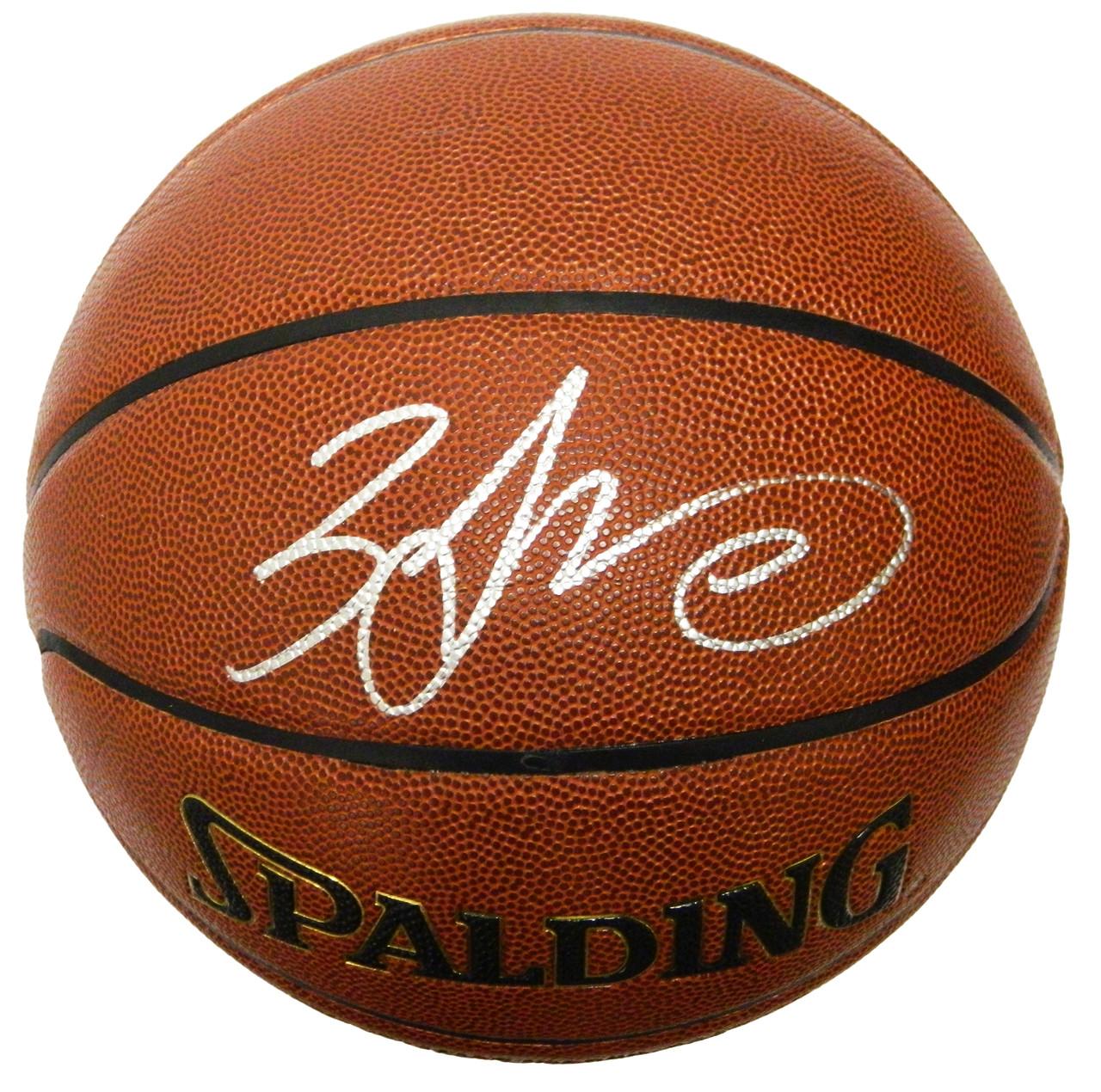 38013ac07 Zach LaVine Signed Spalding NBA Indoor Outdoor Basketball - Nikco Sports