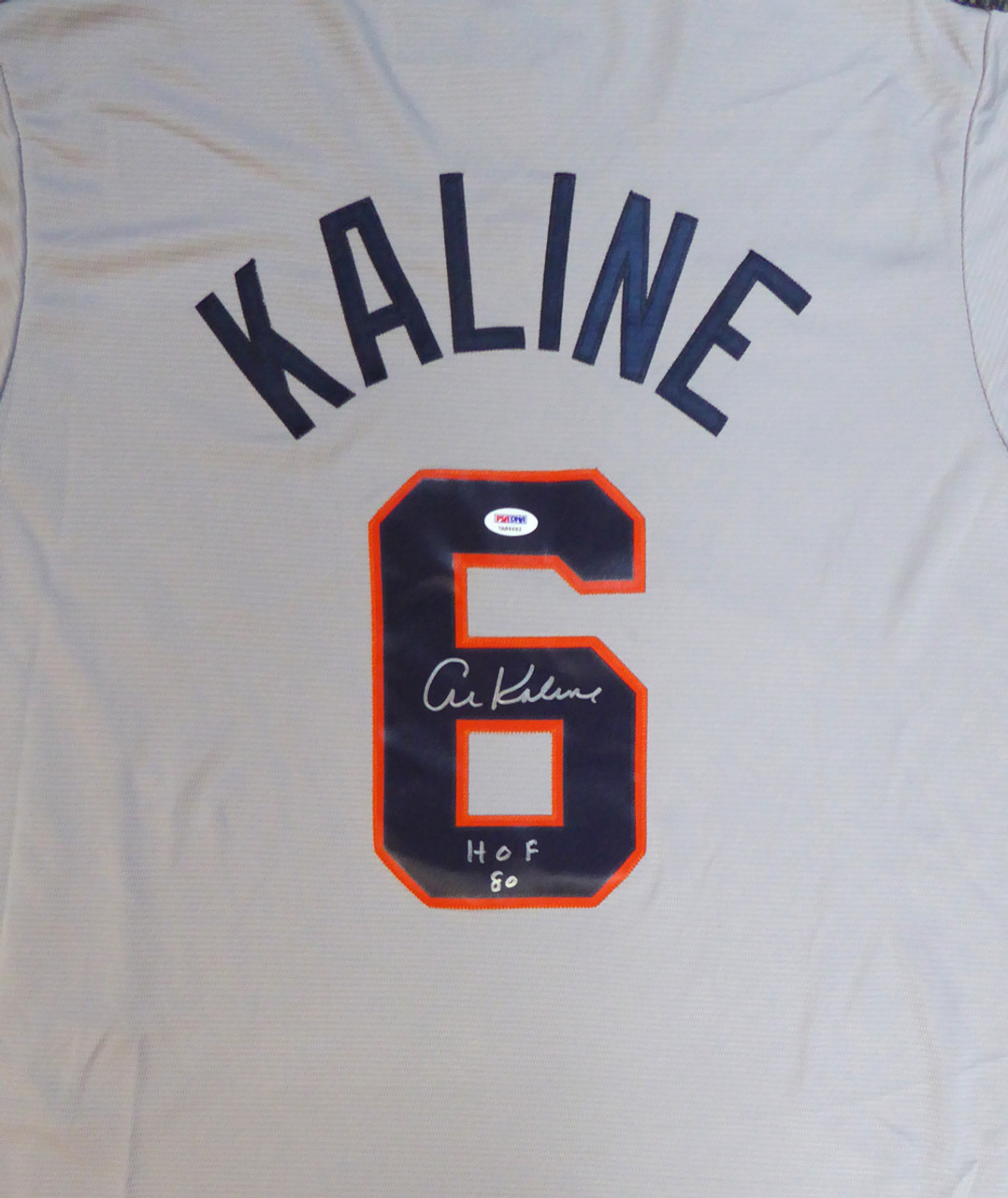low priced c20ae 596d9 Al Kaline HOF Detroit Tigers Autographed Jersey