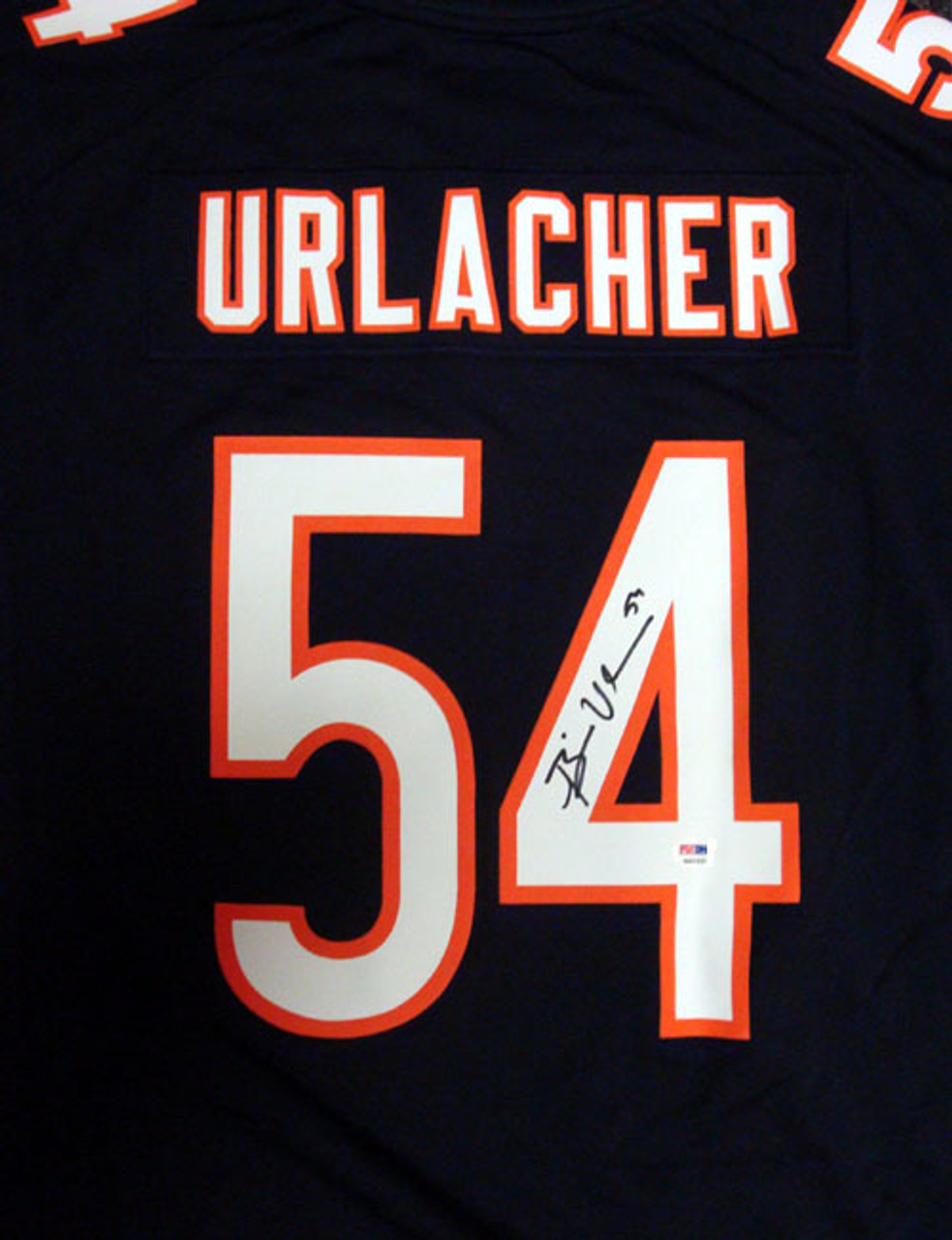 quality design 5ceab cd458 Brian Urlacher HOF Chicago Bears Autographed Blue & White NIKE Jersey Size  XL PSA/DNA ITP