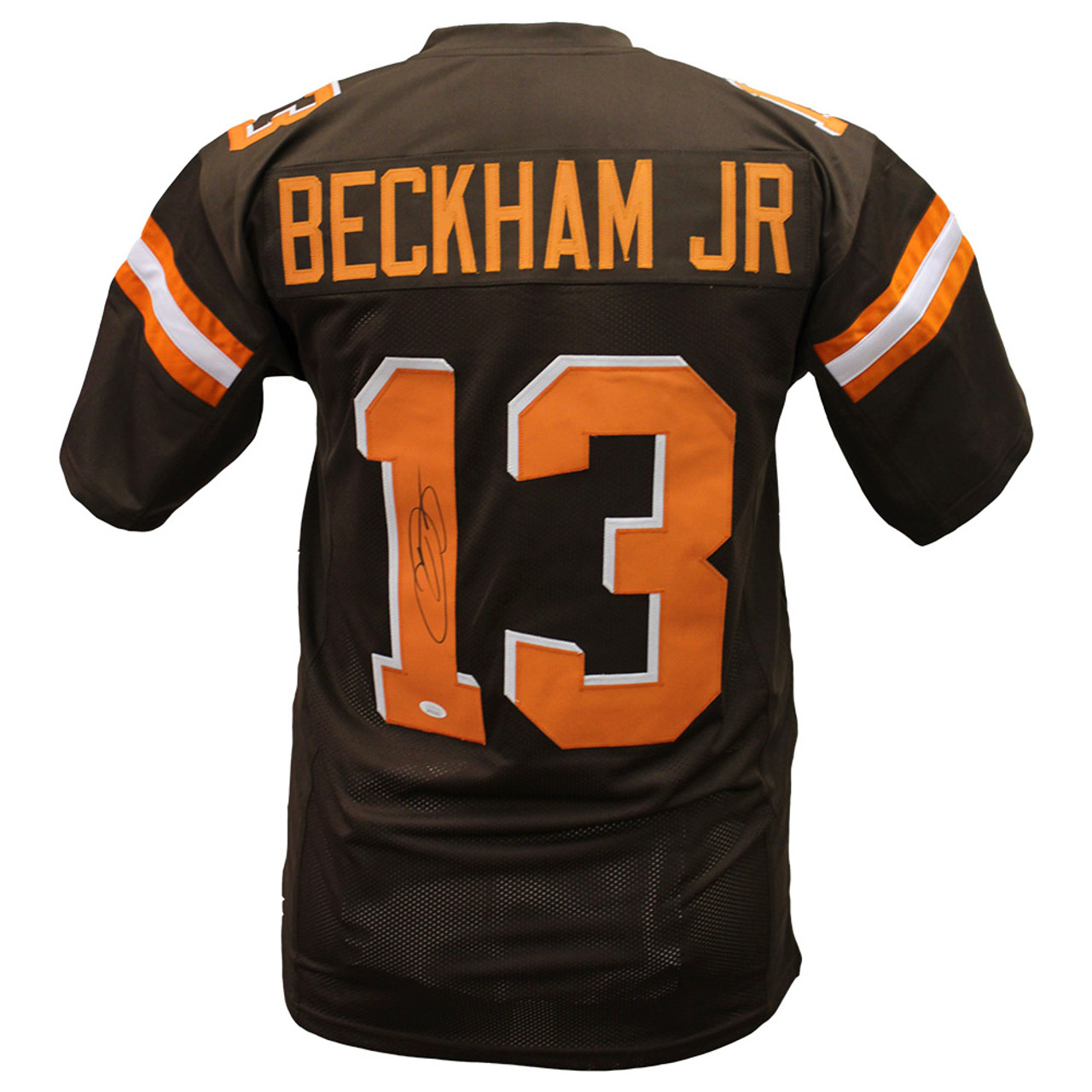 cheap for discount b33db 14f2f Odell Beckham Jr. Cleveland Browns Autographed Custom Jersey - JSA Authentic