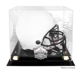 Sports Mem, Cards & Fan Shop New Denver Broncos Football Helmet Display Case Black Sport Molding Uv Nfl