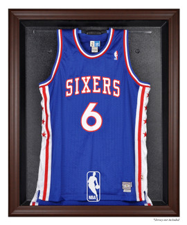 189bc1ad824 NBA Brown Framed Jersey Display Case