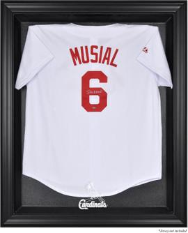 Black Framed MLB Cardinals Jersey Display Case 722fb9dee