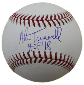 cdf89d58969 Alan Trammell Autographed Baseball with