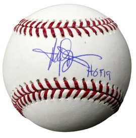 8652bb477ff Harold Baines Autographed Official MLB Baseball inscribed