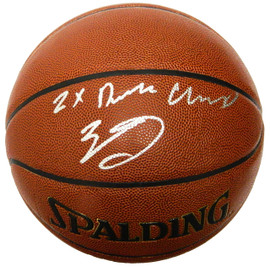 8e6e8ea34a6 Zach LaVine Signed Spalding NBA Indoor/Outdoor Basketball w/2x Dunk Champ
