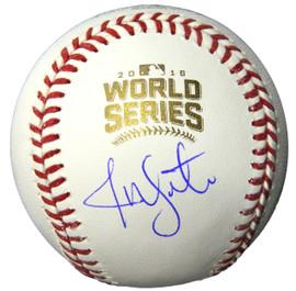 1805d41396b Jon Lester Signed Rawlings Official 2016 World Series Baseball