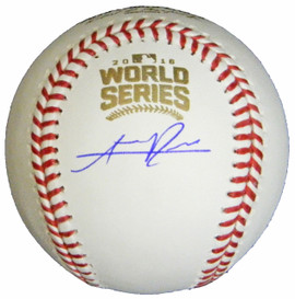124c17f4f Addison Russell Signed Rawlings Official 2016 World Series MLB Baseball