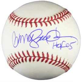f473b275168 Ryne Sandberg Signed Official MLB Baseball w HOF 05