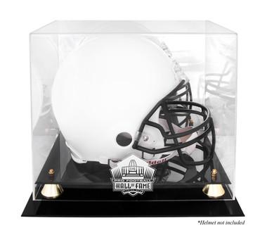 Golden Classic Football Helmet NFL HOF Display Case