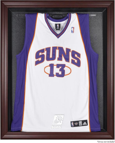 Phoenix Suns Mahogany Framed Jersey Display Case