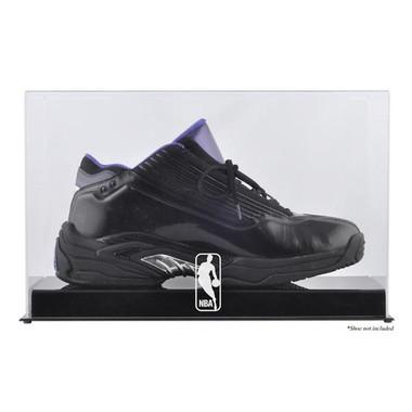 NBA Logo Basketball Shoe Display Case - Basketball Memorabilia