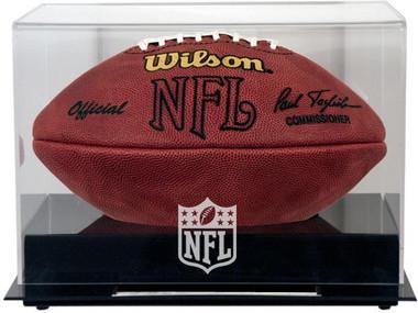Black Base Football NFL Display Case