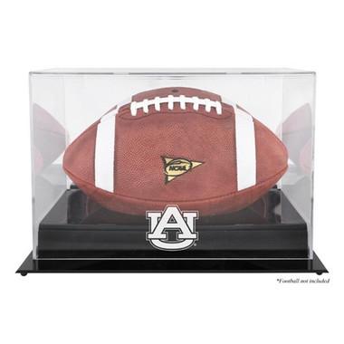 Auburn Tigers black base Football Display Case
