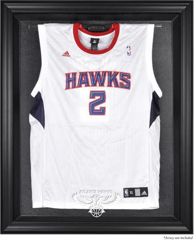 Atlanta Hawks Black Framed Jersey Display Case