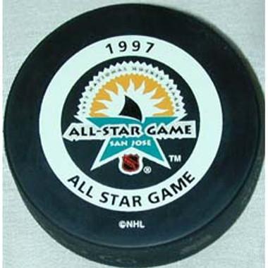 1997 All-Star Game Puck San Jose Sharks