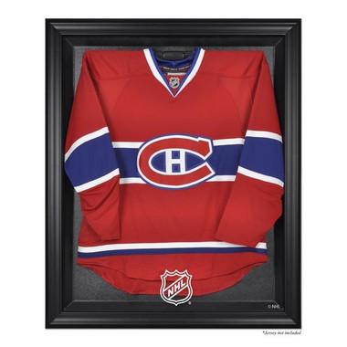 Black Framed Jersey  NHL Logo Display Case
