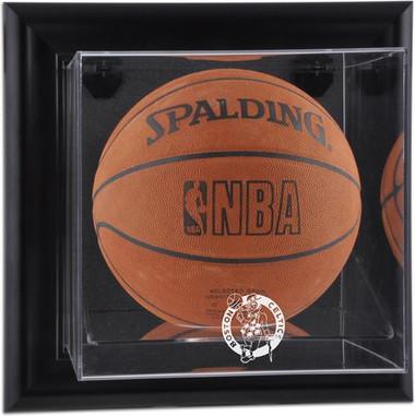 Boston Celtics Black Framed Wall Mounted Basketball Display Case