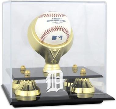 Golden Classic MLB Single Baseball Tigers Display Case