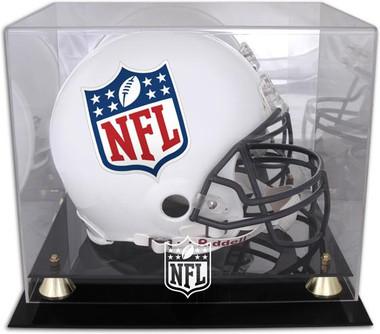 Golden Classic Football Helmet NFL Display Case