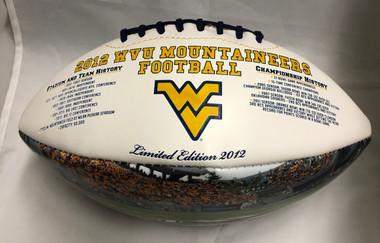 West Virginia 2012 Big 12 Limited Edition Commemorative Football