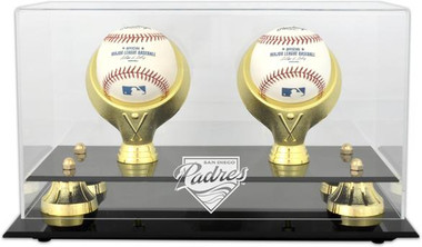 Golden Classic MLB Two Baseball Padres Display Case