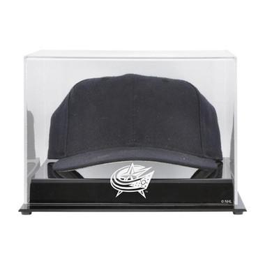 Acrylic Cap Columbus Blue Jackets Display Case