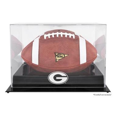 Georgia Bulldogs Blackbase Football Display Case