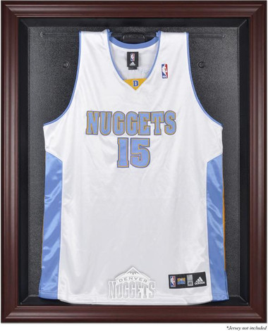 Denver Nuggets Mahogany Framed Jersey Display Case