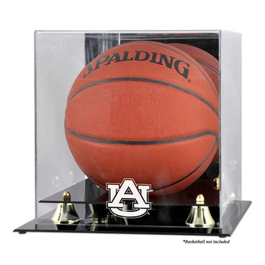 Auburn Tigers Golden Classic Basketball Display Case