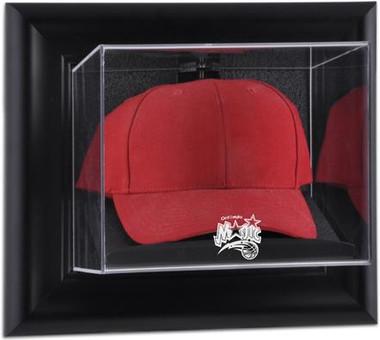 Orlando Magic Black Framed Wall Mounted Cap Case