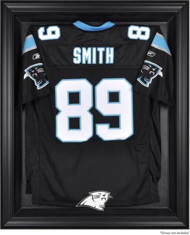 Black Framed Panthers Jersey Display Case