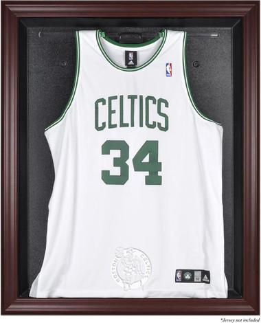 Boston Celtics Mahogany Framed Jersey Display Case