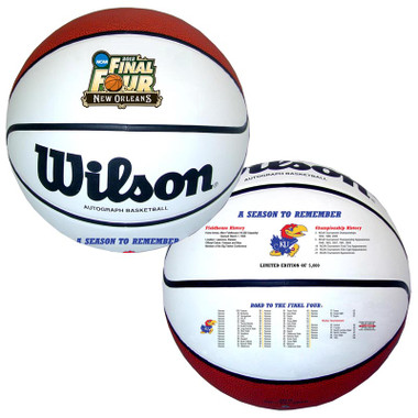 Kansas Jayhawks 2012 NCAA Final Four Basketball
