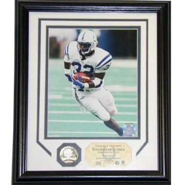 Edgerrin James Indianapolis Colts Photo Plaque