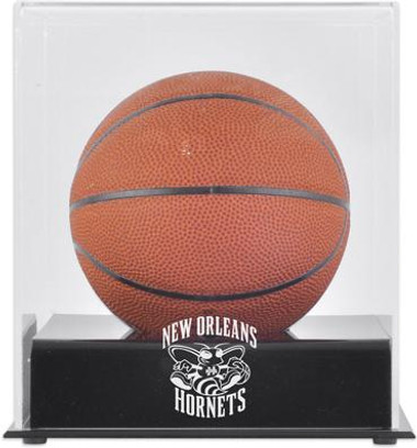 New Orleans Pelicans Mini Basketball Display Case
