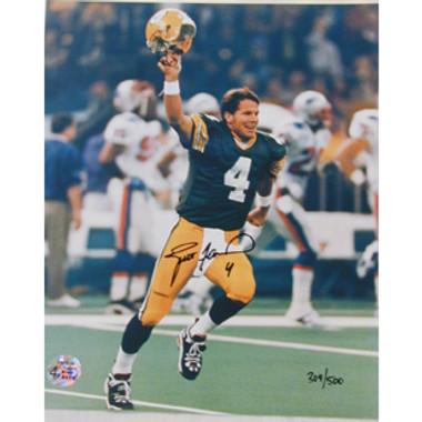 Brett Favre Green Bay Packers Autographed 8x10 Photo