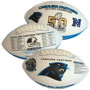Carolina Panthers NFC Champ and Super Bowl Appearance Football