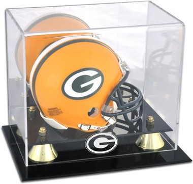 Golden Classic Packers Mini Helmet Case