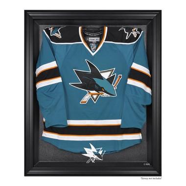 Black Framed Jersey San Jose Sharks Display Case