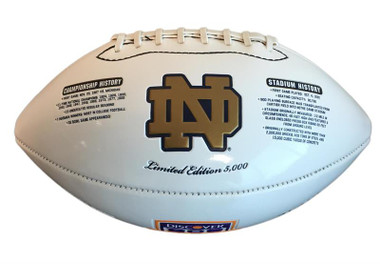 2012 Notre Dame BCS Commemorative Football