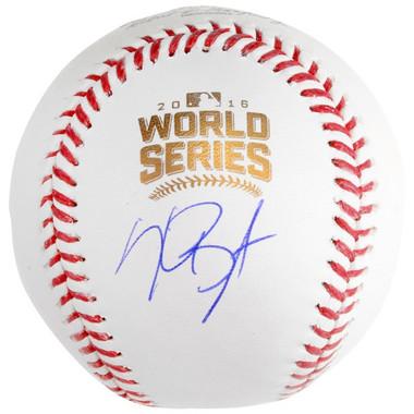 Kris Bryant Autographed World Series MLB Baseball