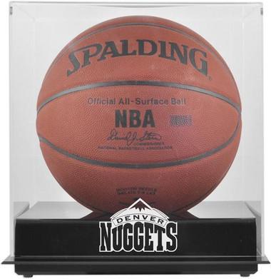 Denver Nuggets Blackbase Basketball Display Case