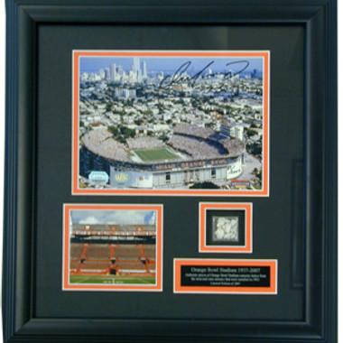 Orange Bowl 15 x 17 Photo Plaque with Dan Marino Autograph