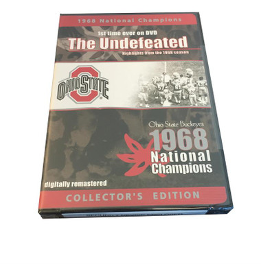 The Undefeated - Ohio State Buckeyes 1968 Championship DVD