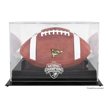 Auburn Tigers BCS black base Football Display Case