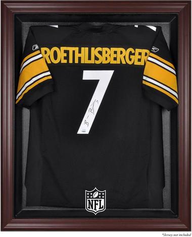 Mahogany Framed NFL Jersey Display Case